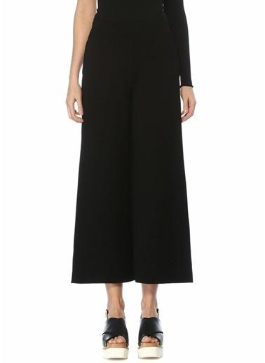 Stella McCartney Stella McCartney 101495612 Yüksek Bel Bol PaÇa Kadın Pantolon Siyah